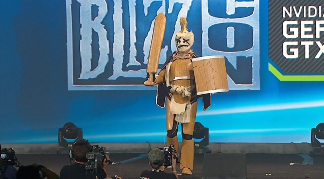 This was my personal favourite costume, just ahead of the Lady Lich King.
