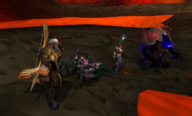 Cim and Lioux, clearly impressed with Ragnaros' great election speech.
